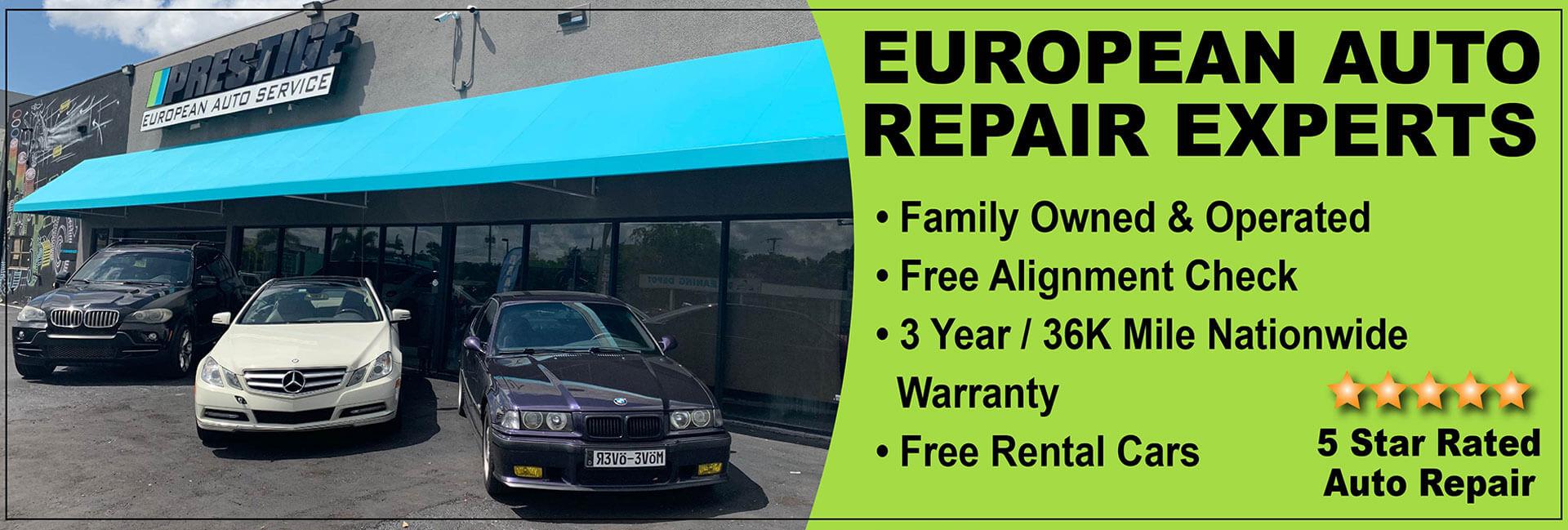 European Auto Repair - BMW - Mercedes - Land Rover - Fort